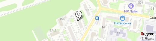 Авто-Гибрид на карте Дзержинска