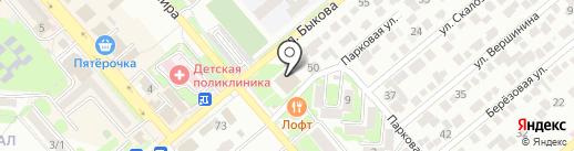 ДЮСШ на карте Георгиевска