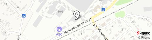 Юг-ДСП на карте Георгиевска