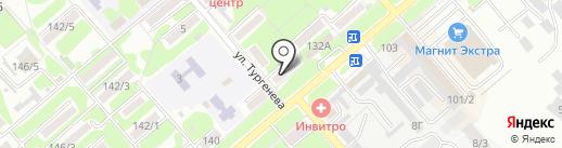 Банкомат, Россельхозбанк на карте Георгиевска
