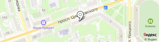 БИНБАНК кредитные карты на карте Дзержинска