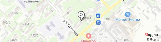 Радиосервис, ЗАО на карте Георгиевска