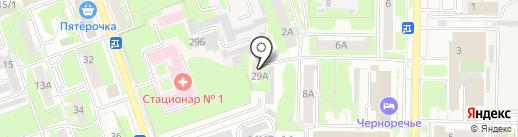 Дзержинский межрайонный отдел судебно-медицинской экспертизы на карте Дзержинска