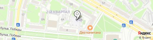 Детский сад №63 на карте Дзержинска