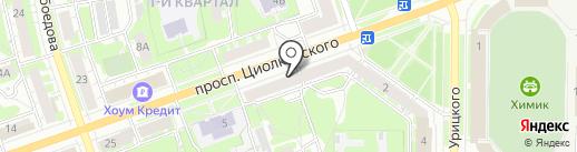 Банк Югра, ПАО на карте Дзержинска