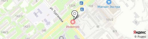 Березка на карте Георгиевска