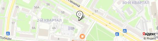 Нотариус Пересыпина Т.А. на карте Дзержинска