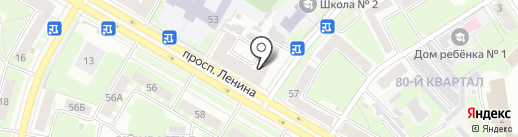 АльфаВит на карте Дзержинска