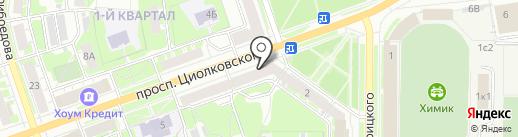 Сумка бум на карте Дзержинска