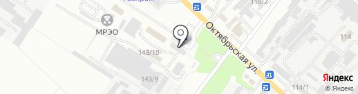 Автоколонна 1274 на карте Георгиевска