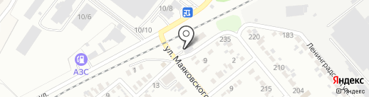 Автокомплекс на карте Георгиевска