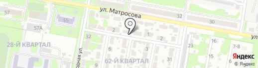 Производственная компания на карте Дзержинска