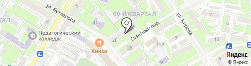 Нижегородский областной центр крови им. Н.Я. Климовой на карте Дзержинска