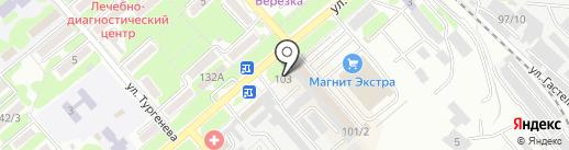 Яна на карте Георгиевска