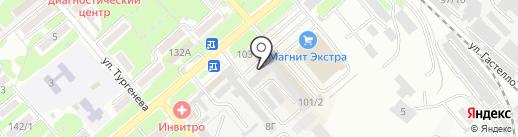 Коней на карте Георгиевска