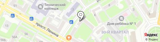 Нижегородская Сбытовая Компания на карте Дзержинска