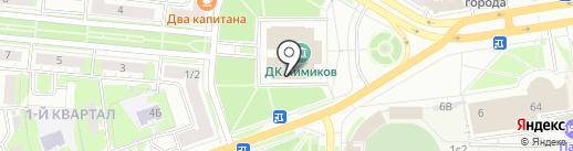 Mixsport на карте Дзержинска