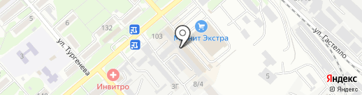 СТО Коней на карте Георгиевска