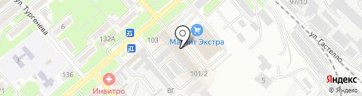 Рыбная лавка на карте Георгиевска