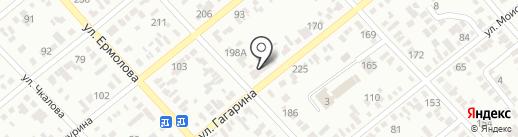 Виола на карте Георгиевска