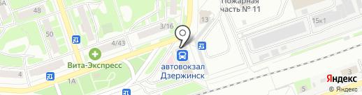 Новая весна на карте Дзержинска
