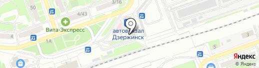 Пилюля на карте Дзержинска