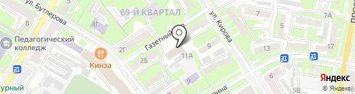 Юридическая компания на карте Дзержинска
