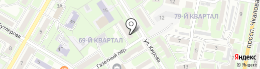 Нотариус Цимидан Ю.Г. на карте Дзержинска