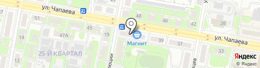Магазин бытовой химии на ул. Революции на карте Дзержинска
