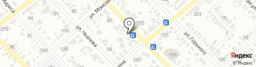 Глобус на карте Георгиевска