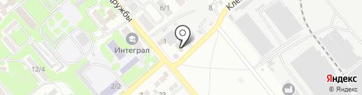 Шиномонтажная мастерская на карте Георгиевска