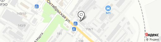 Вираж на карте Георгиевска
