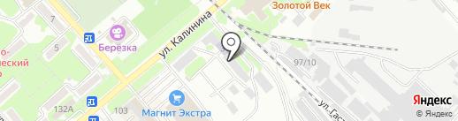 Трансагентство, ЗАО на карте Георгиевска