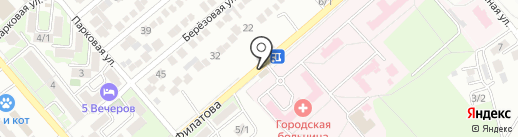 ТОНУС на карте Георгиевска