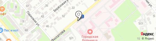 Продукты на карте Георгиевска
