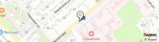 Продуктовый магазин на карте Георгиевска