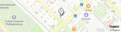 Фемида на карте Георгиевска