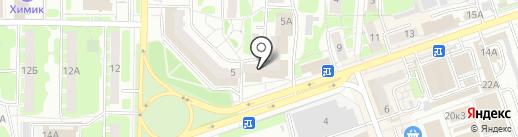 Кое-что на карте Дзержинска