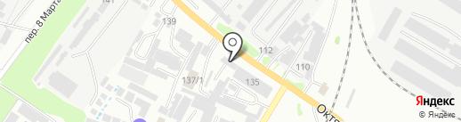 Георг-Тент на карте Георгиевска