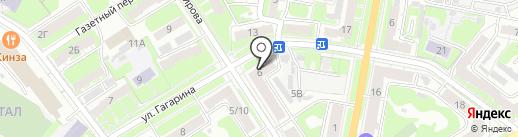 Магика на карте Дзержинска