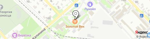 Золотой Век на карте Георгиевска