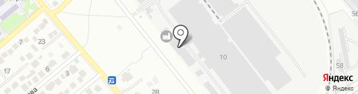 Первый Георгиевский консервный завод на карте Георгиевска