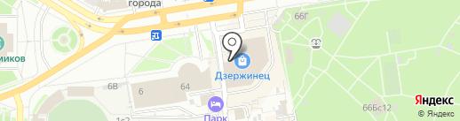 ProСпорт на карте Дзержинска