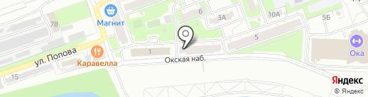 ОКСКИЙ на карте Дзержинска