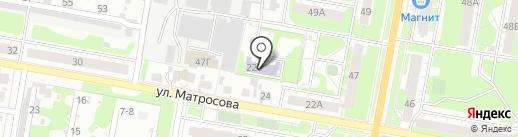 Центр патриотического воспитания отечества на карте Дзержинска