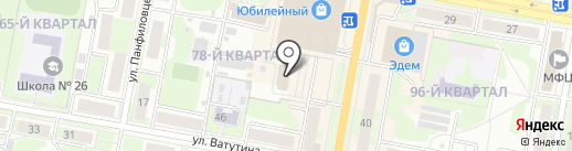 Дзержинский городской суд на карте Дзержинска