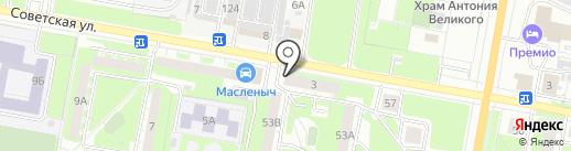 Европавто+ на карте Дзержинска