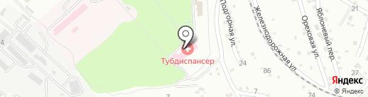Противотуберкулезный диспансер на карте Георгиевска