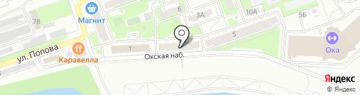 ИЛАН-НН на карте Дзержинска