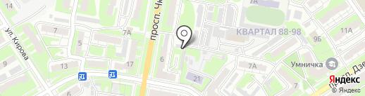 Центр кузовного ремонта на карте Дзержинска